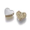 Imitation Druzy Gemstone Resin BeadsRESI-L026-D-3