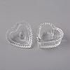 Heart Nail Art Glass Dappen DishX-MRMJ-WH0060-12-2